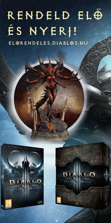 Diablo 3: Reaper of Souls előrendelés nyeremény
