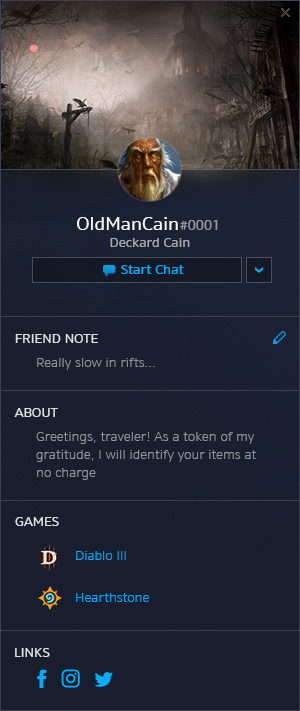 Profil oldal