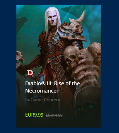 Rise of the Necromancer DLC Akció!