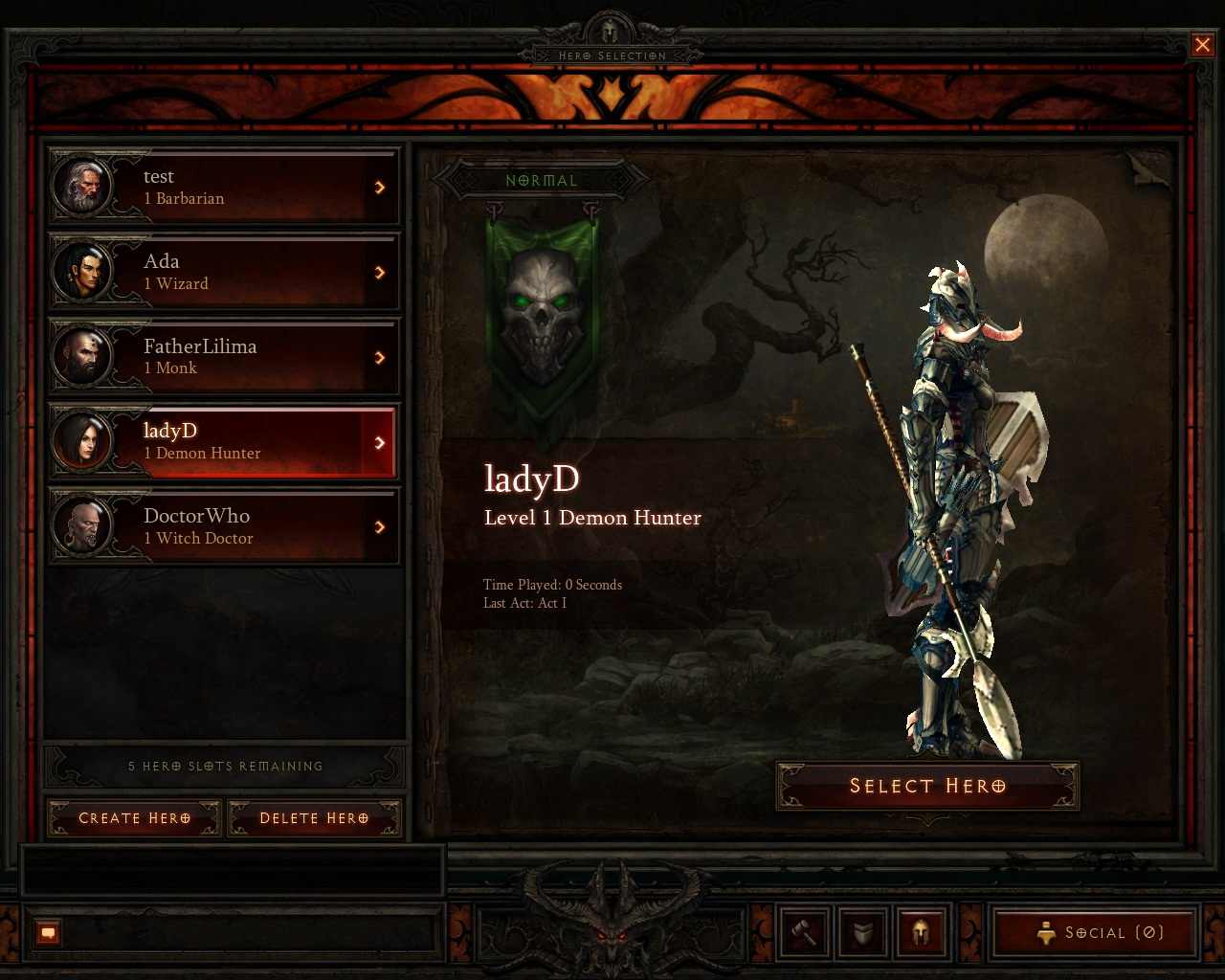 diablo3 how to get demon hunter unholy set