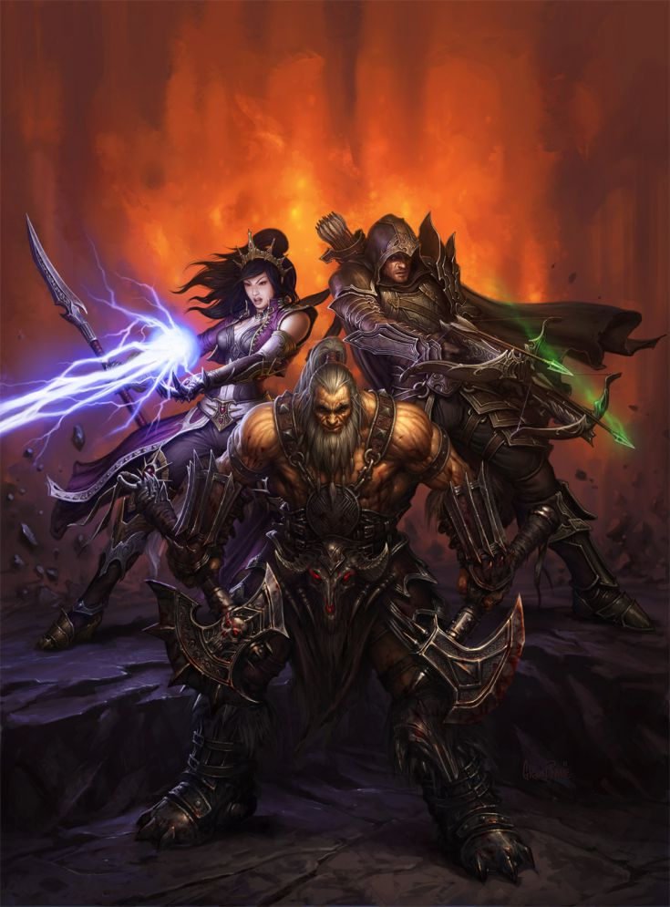 Blizzcon 2011 Character poster