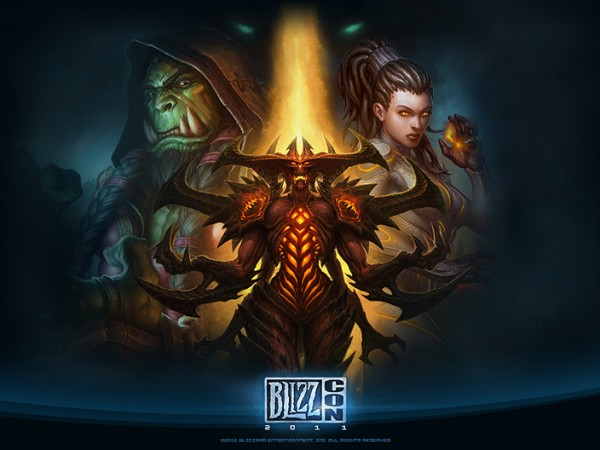 Blizzcon 2011 Official Wallpaper