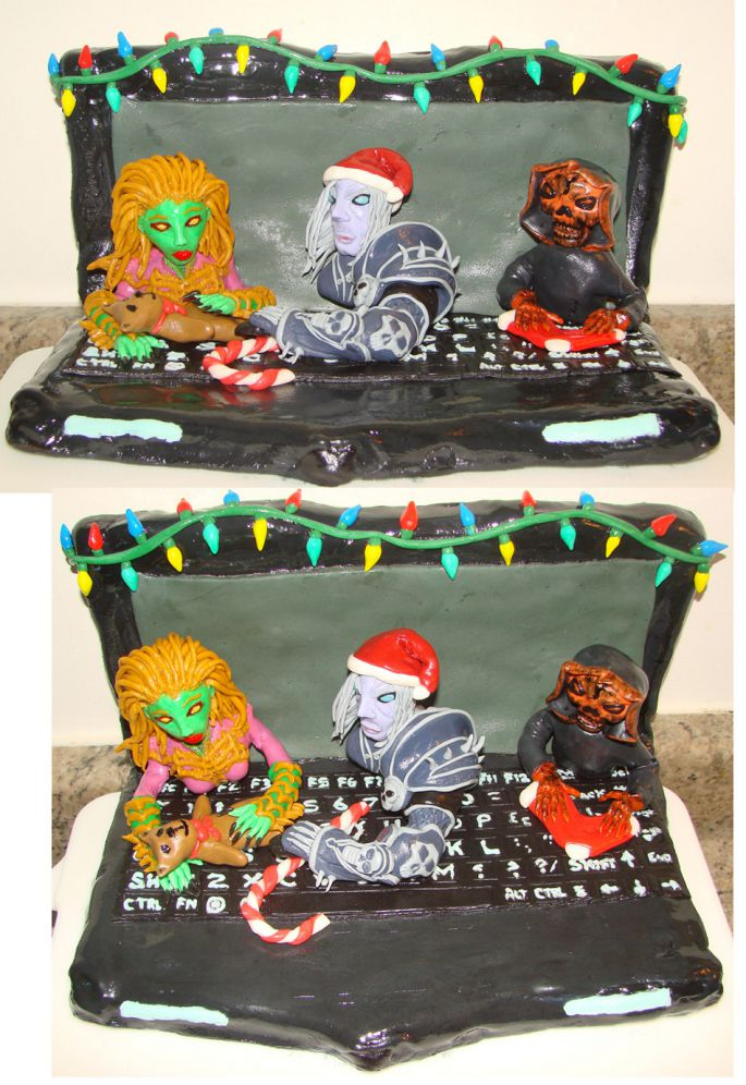 Blizzard Holiday Cake 1