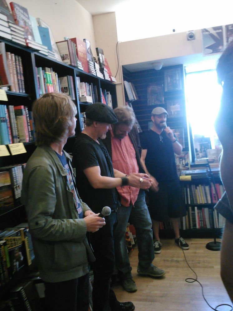 Book of Cain Signing 1