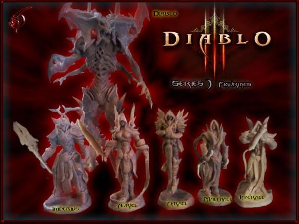 Diablo 3 figurák