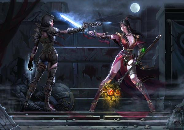 Demonhunter vs. Wizard