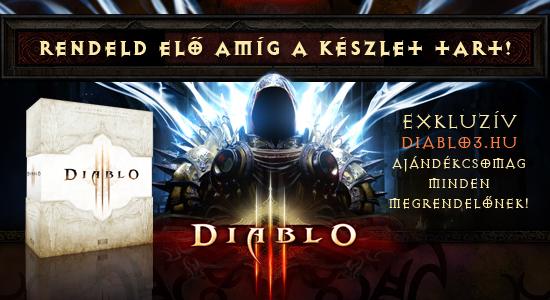 Diablo 3 előrendelés