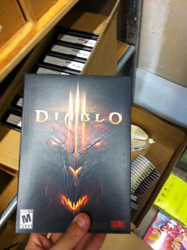 Diablo 3 Standard Paper box