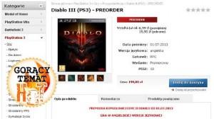 Diablo 3 PS3 verzió