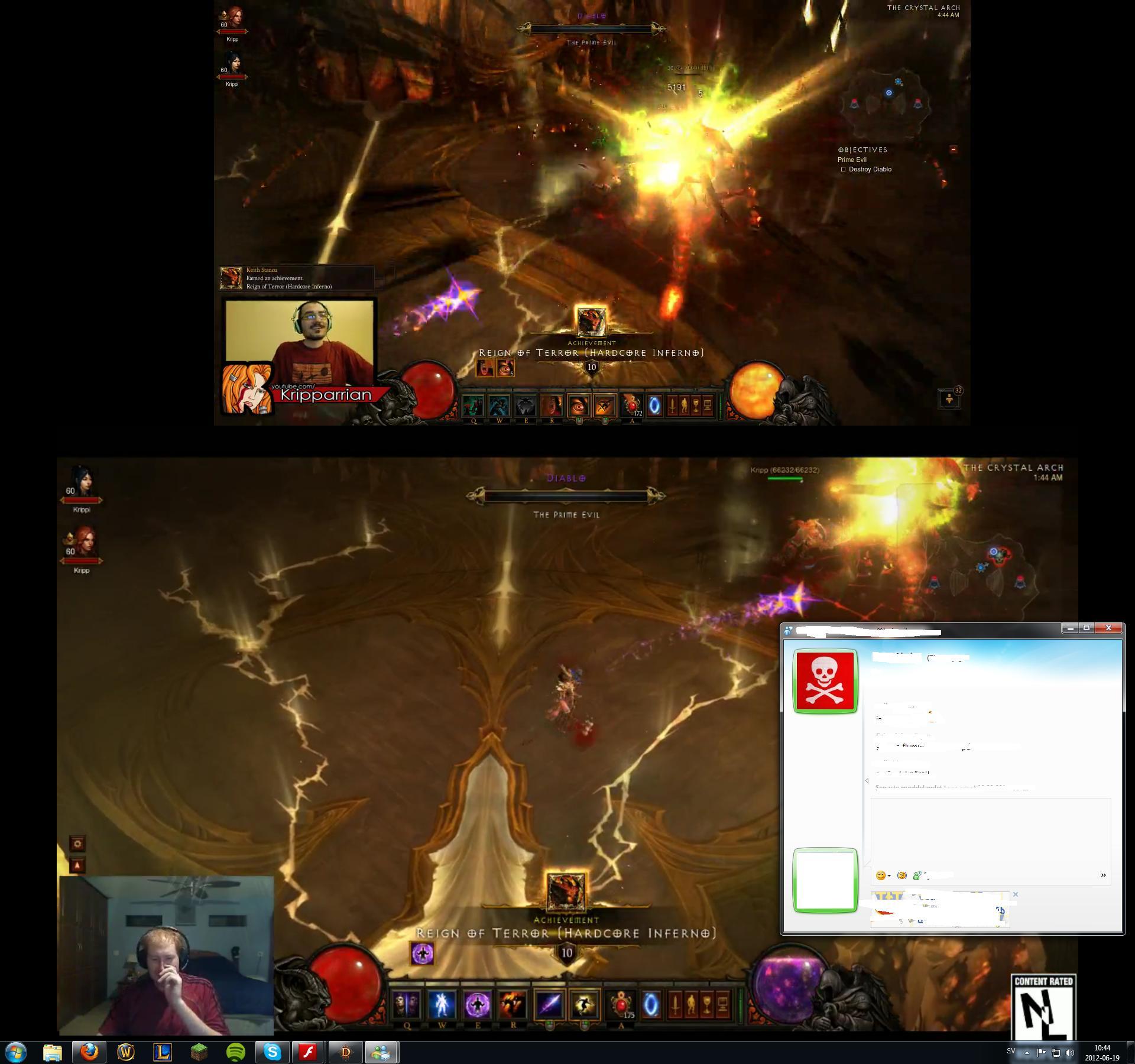 Hardcore Inferno Diablo Kill