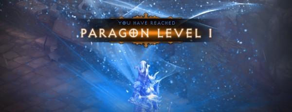 Paragon lvl up