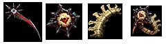 Materialok és Hellfire Ring