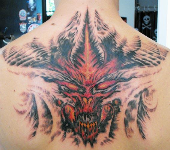 Diablo 3 arc tetoválás