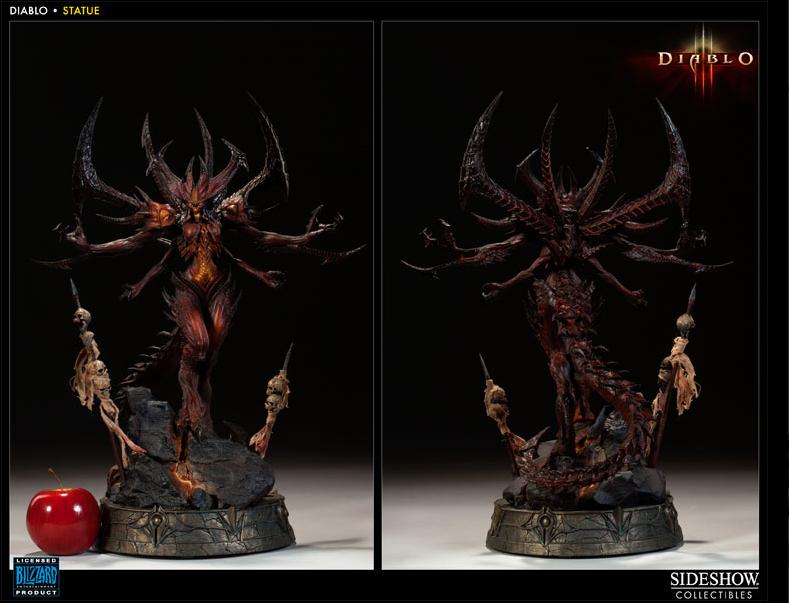 Diablo szobor