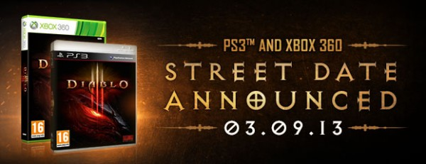 Diablo 3 Console release date