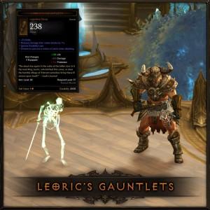 Leoric Gauntlets
