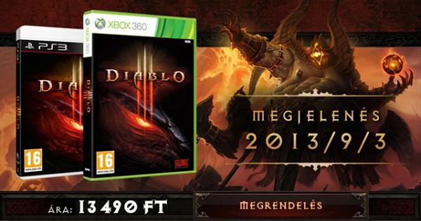 Diablo 3 Xbox 360 és PlayStation 3 előrendelés