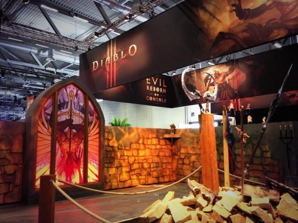 Gamescom Blizzard Diablo 3 stand