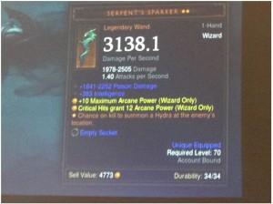 Diablo 3: Reaper of Souls Wizard legendary Wand