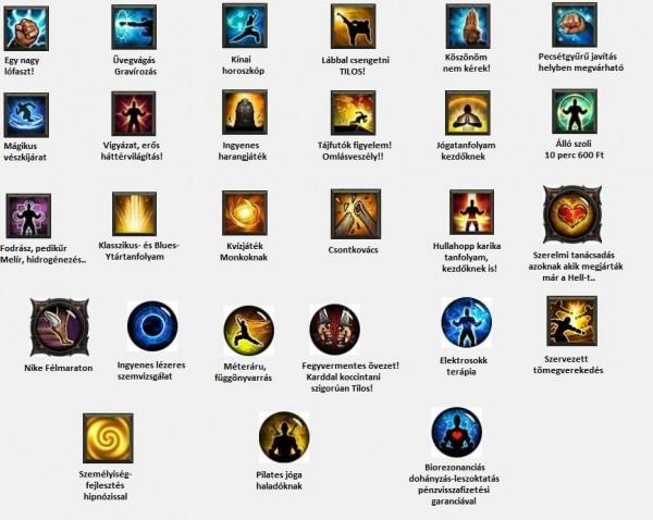 Monk képességek