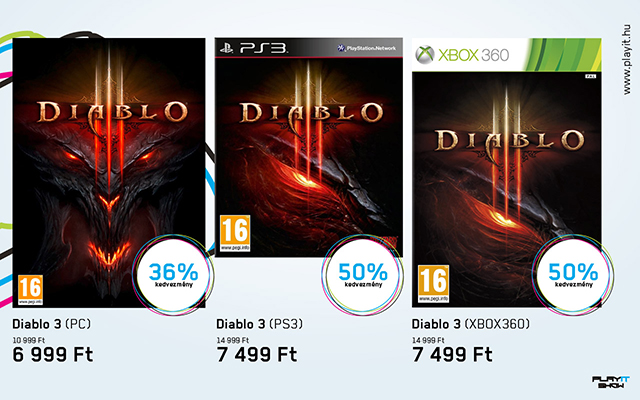PlayIT Diablo 3 akció