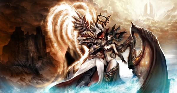 Inarius és Lilith