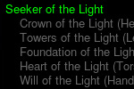 Seeker of the Light 1