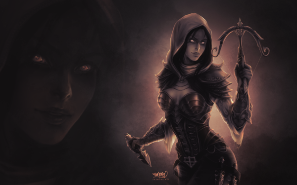 Demon Hunter fanart