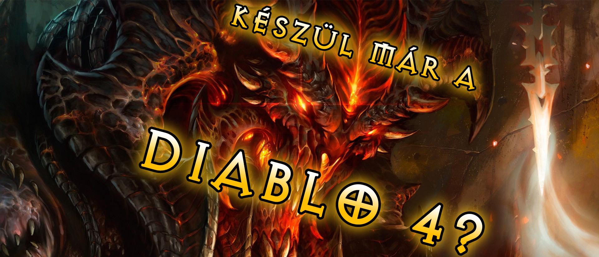 Készül már a Diablo 4?
