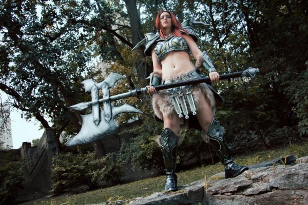 Akishuna Barbarian Cosplay