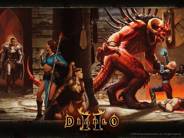 Diablo 2 háttérkép